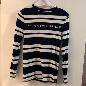 Tommy Hilfiger Men's long sleeve logo t-shirt